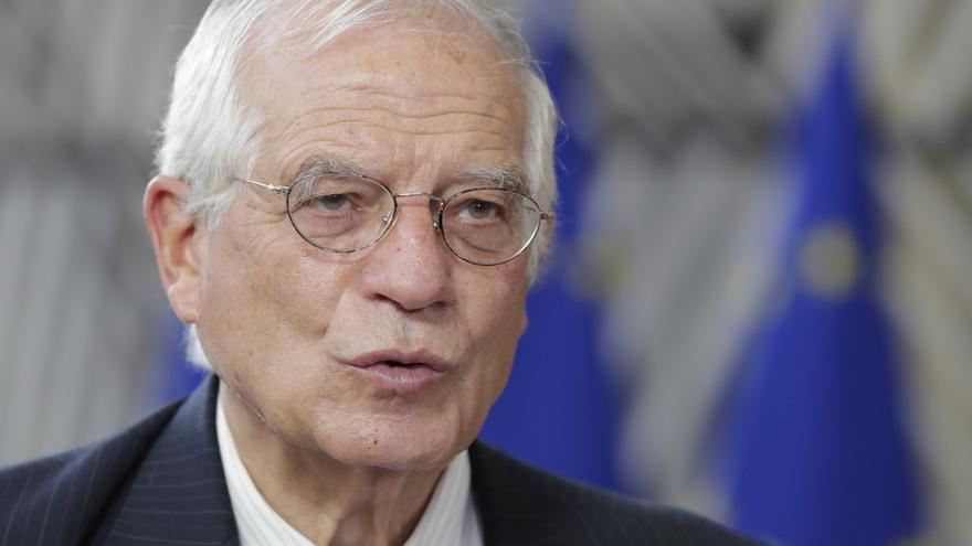 Borrell pide al ministro de Exteriores bielorruso parar la represión