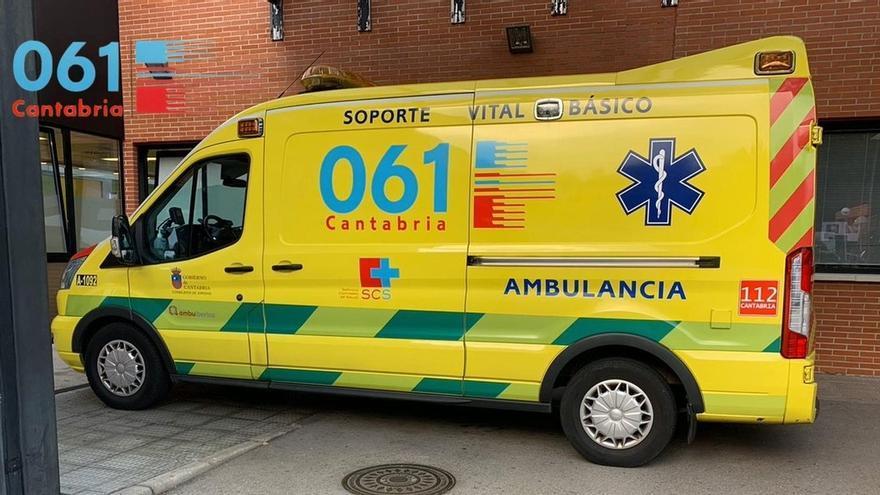 Trasladado a Urgencias un hombre de 41 años atropellado en Torrelavega
