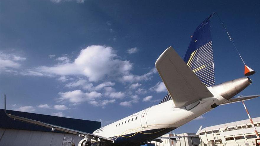 El beneficio del fabricante de aviones Embraer saltó un 575,5 por ciento en el primer semestre