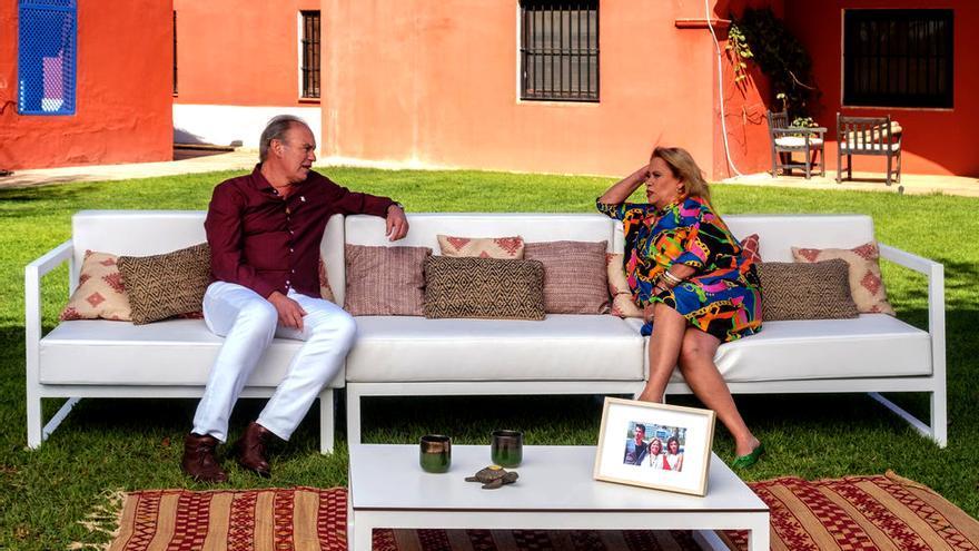 Bertín con Carmina Barrios en 'Mi casa es la tuya'