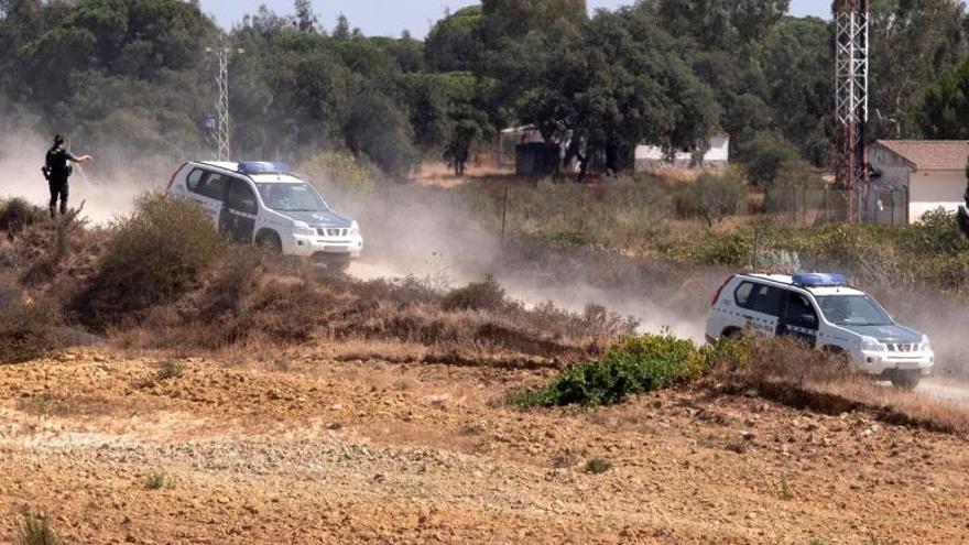 Detenido el hombre atrincherado con una escopeta en una finca de Huelva