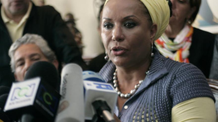 Piedad Cordoba, senadora colombiana