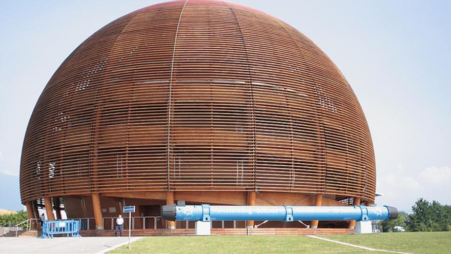 El Globo de la Ciencia y la Innovación en el CERN. Foto: https://secure.flickr.com/photos/wimox/5209381388/in/photostream/