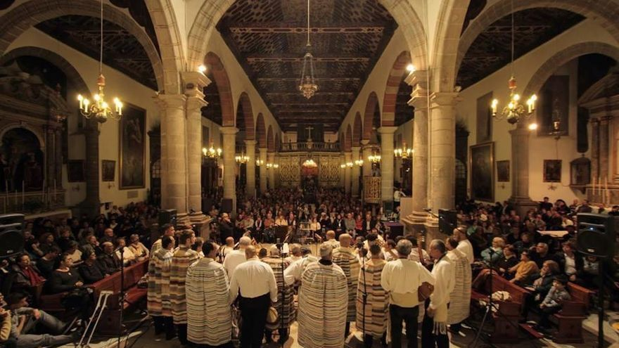 Imagen de archivo de Tajadre en un concierto en la iglesia de El Salvador.