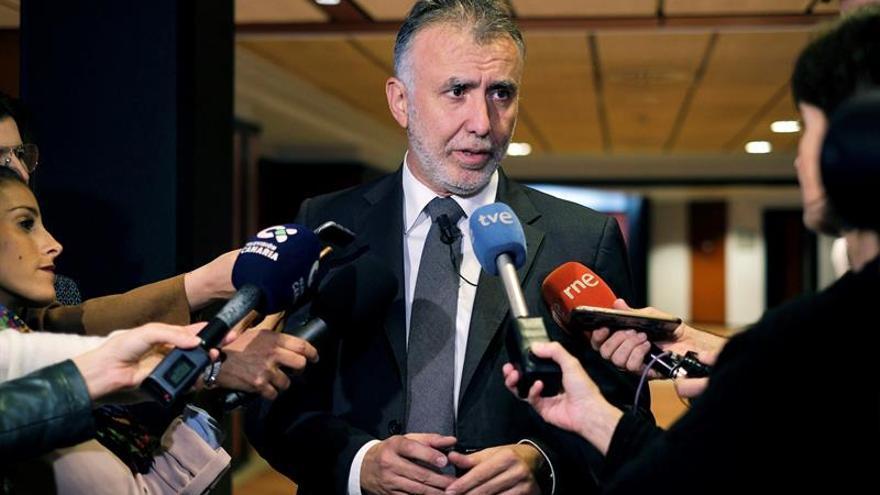 El secretario general del PSC, Ángel Víctor Torres