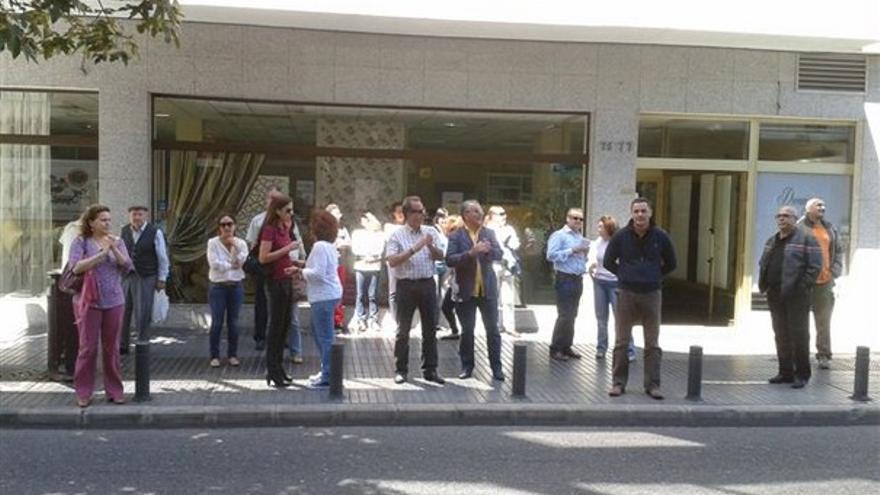 De protestas de funcionarios en LPGC #7