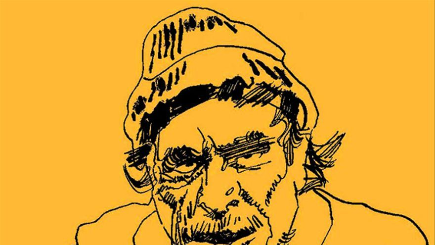 Retrato de Charles Bukowski
