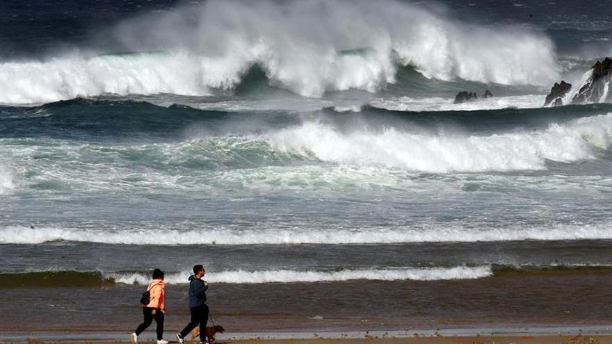 Fin de semana con lluvias en Galicia y la incertidumbre del ciclón Leslie