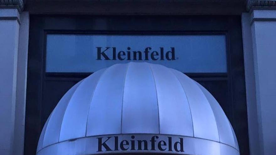 Fachada del establecimiento Kleinfeld, en Nueva York