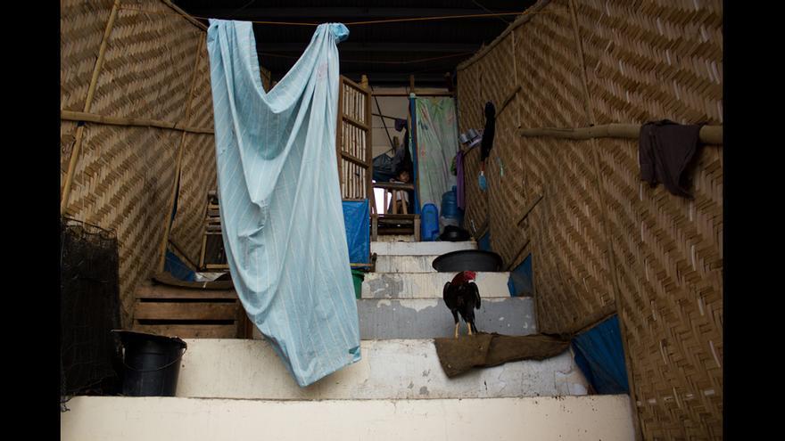 Las condiciones en el campo son tan precarias que ya han muerto 186 personas, la mitad de ellas niños, en un año. © Carlos Sardiña Galache.