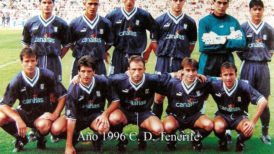 Formación del CD Tenerife de la temporada 1996/1997.