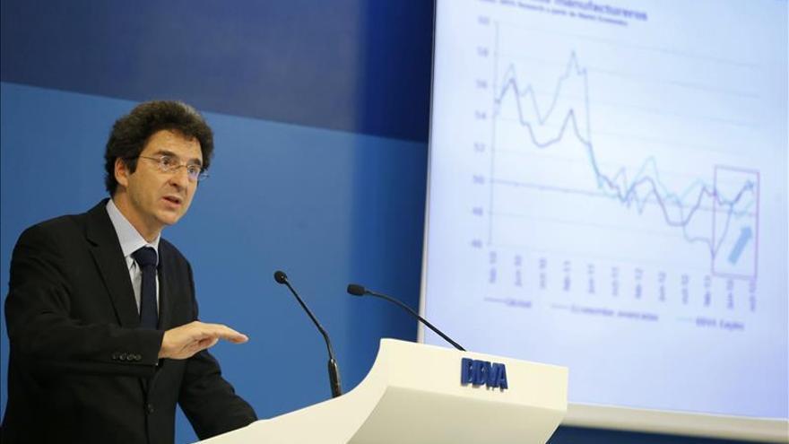 La recuperación continúa en España pese al estancamiento europeo, según BBVA