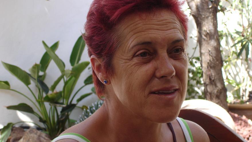 Rosa Peredo Serrano participa en la librería La Vorágine en el ciclo de entrevistas 'Militancias'.