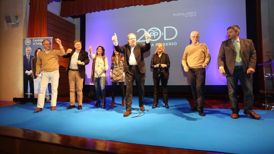"""Juan Vicente Herrera (PP): """"A España le conviene apostar en serio, no por la incertidumbre"""""""