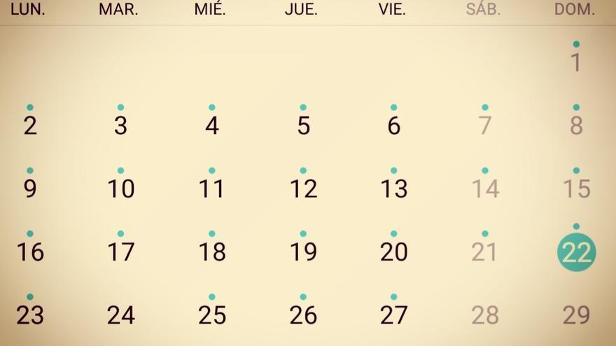 Cuatro de once (domingo).