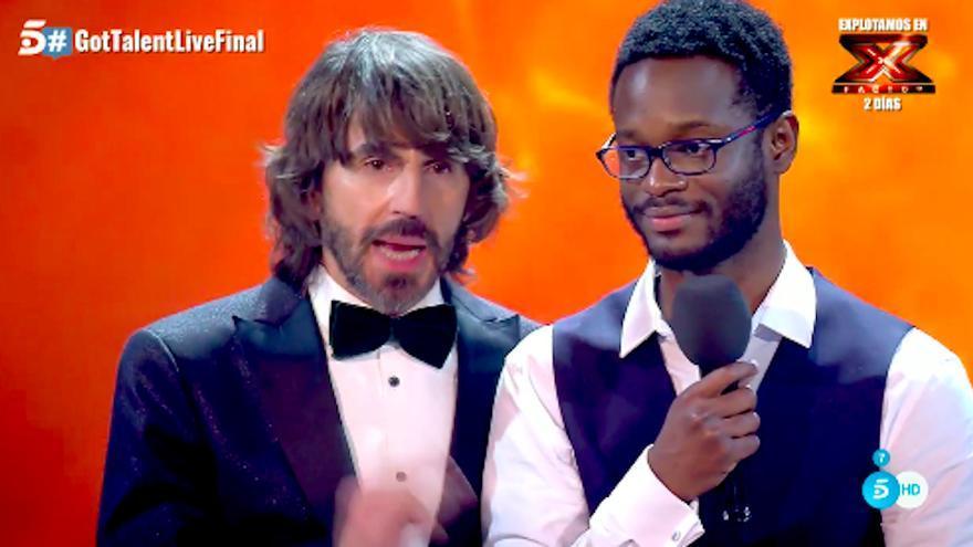 El poeta César Brandon se convierte en el ganador de la 3ª edición de Got Talent España