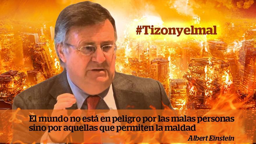 Foto de la campaña #Tizonyelmal de IU