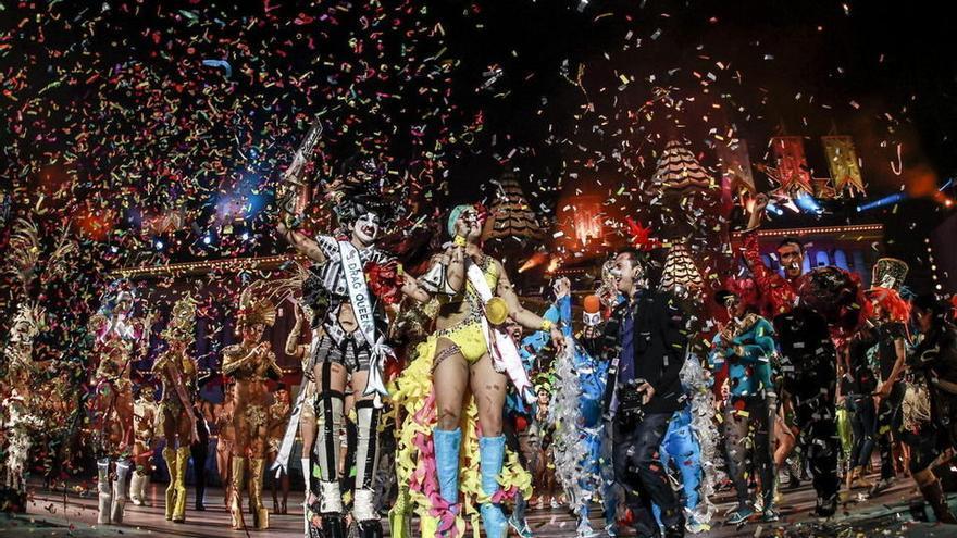 Ganador Drag Queen 2014. Foto: EFE