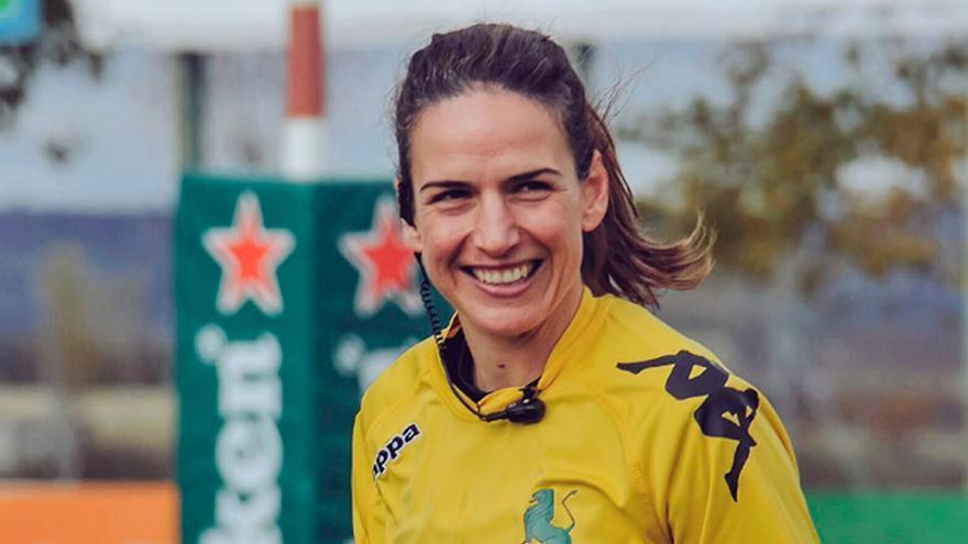 Alhambra Nievas, la mejor árbitro el mundo del rugby en 2016