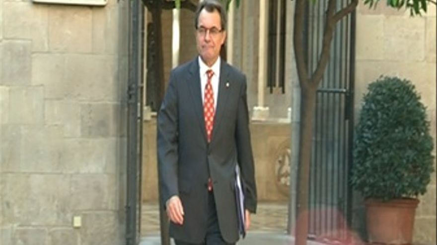 Artur Mas presenta su plan en el Consell Executiu