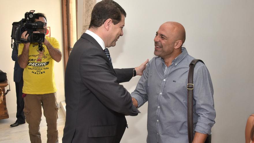 Encuentro entre Emiliano García-Page y José García Molina