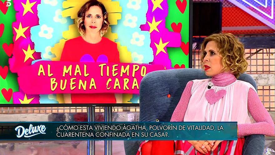 Agatha Ruiz de la Prada, en 'Sábado Deluxe'