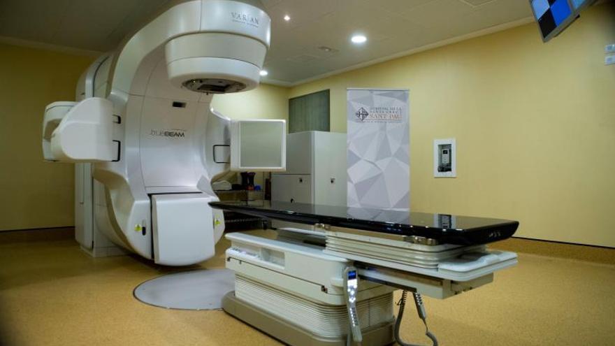 Equipo de radioterapia del hospital de Sant Pau de Barcelona.