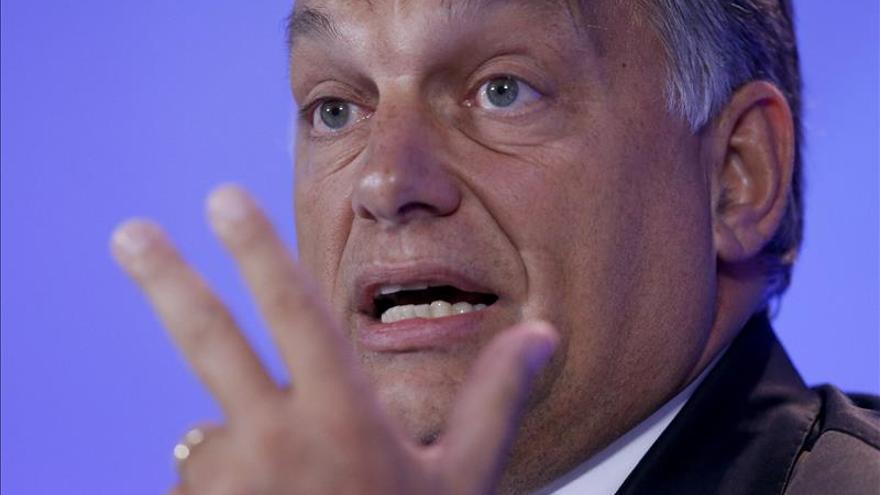 Orbán: si dejamos entrar a todos los inmigrantes, Europa se va a pique