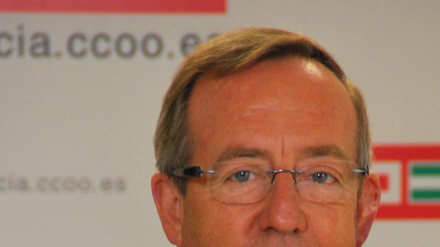 Gonzalo Fuentes, responsable de relaciones institucionales de la Federación de Servicios de CCOO.