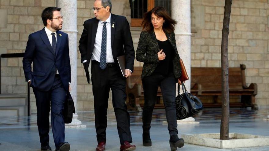 Torra insta por carta a Sánchez y a la Fiscalía a exigir la libertad de los presos