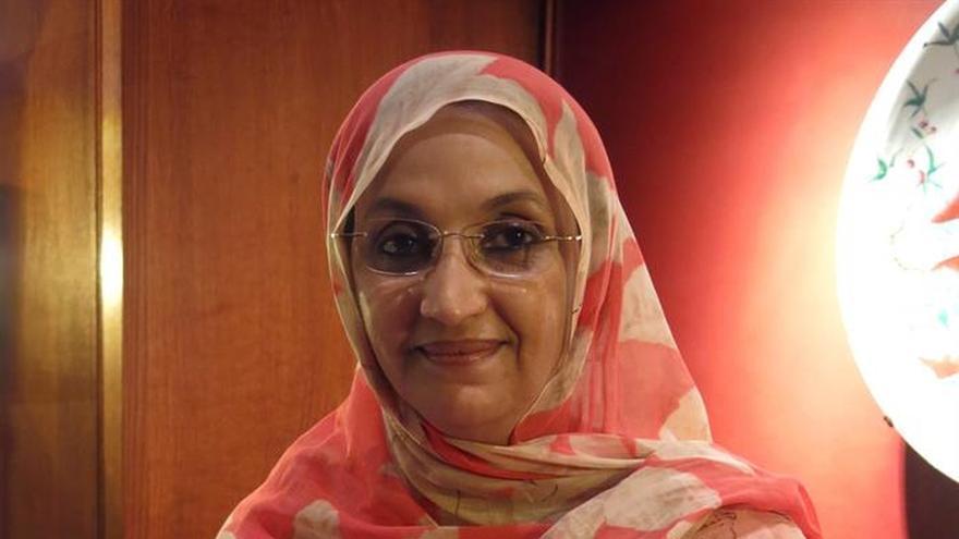 Aminatou Haidar teme que la frustración lleve a los jóvenes saharauis a la violencia