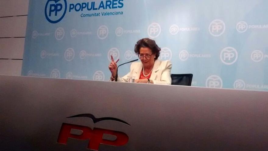 Rita Barberá sigue con su 'annus horribilis': Explicaciones sobre la operación Taula un año después del 'caloret'