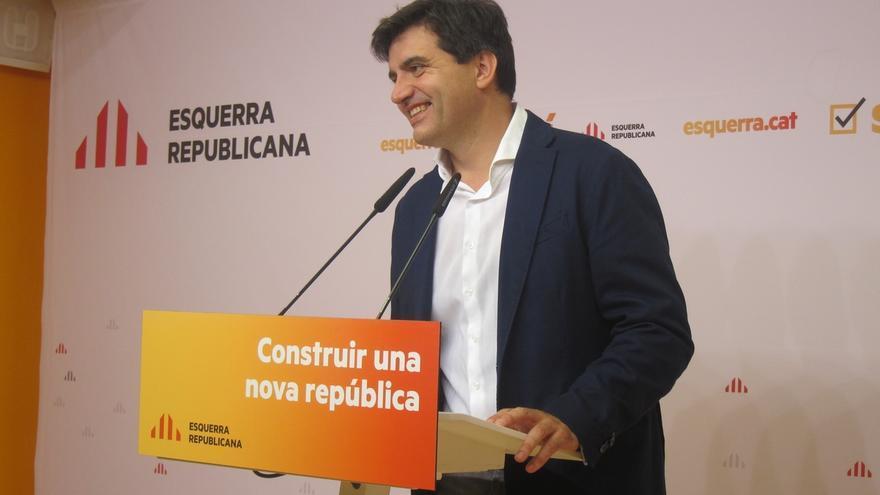 """ERC ve la reunión de Puigdemont, Junqueras y Domènech """"con esperanzas"""" para acercar posturas"""