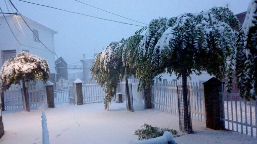 Nieve Piornal Extremadura