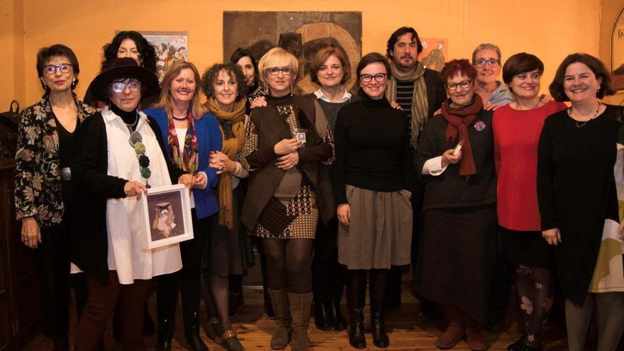 Entrega de los premios Lechuza y Topo por parte de la asociación +mujeres/ CARLOS TRENOR