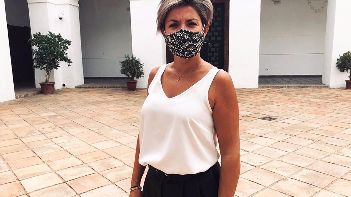 La diputada provincial de Cs, Erika Nevado.