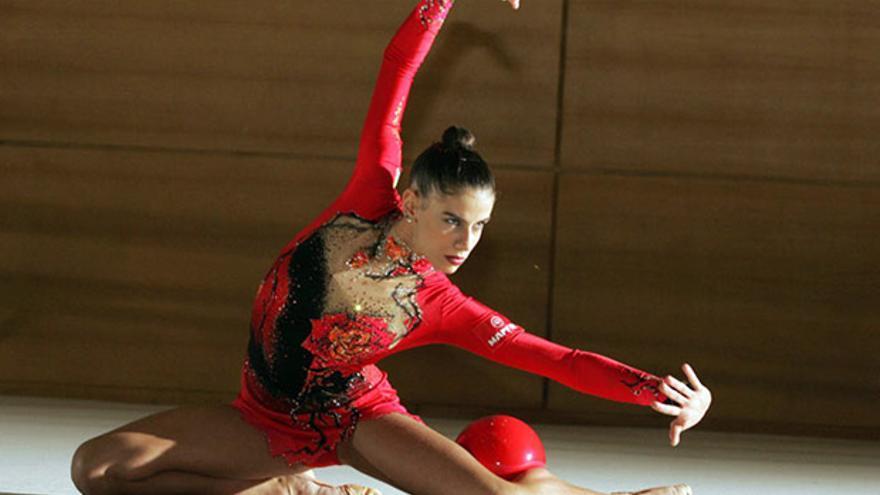 La gimnasta cordobesa Lourdes Mohedano.