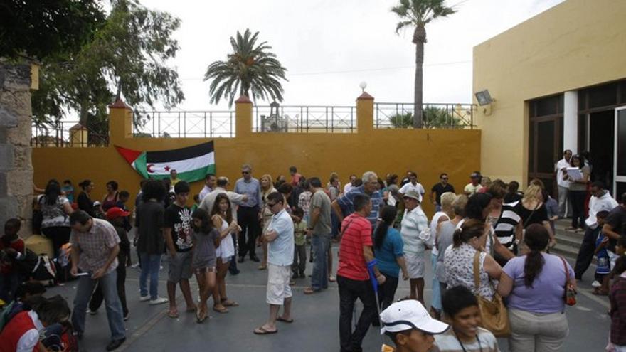 De la llegada de niños saharauis #11