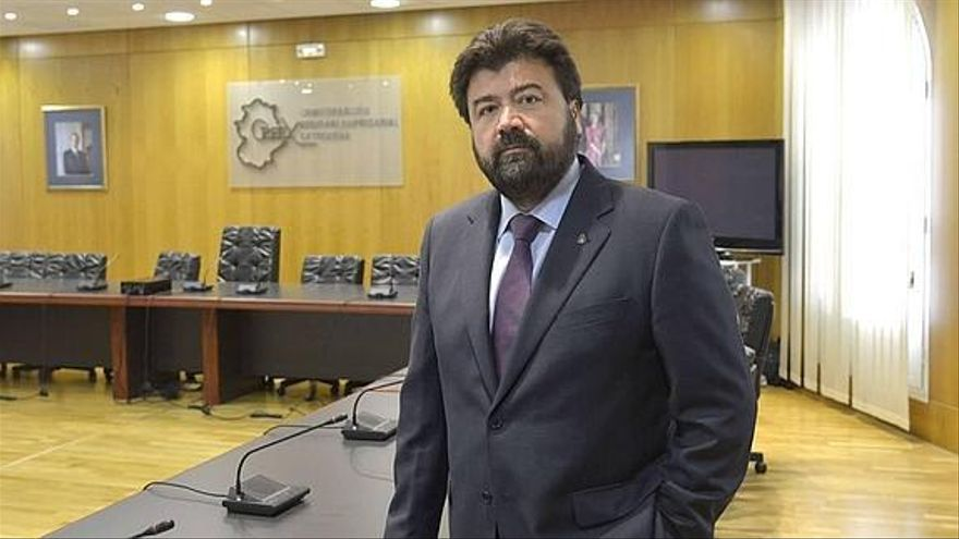 El secretario general de la Creex, Francisco Javier Peinado