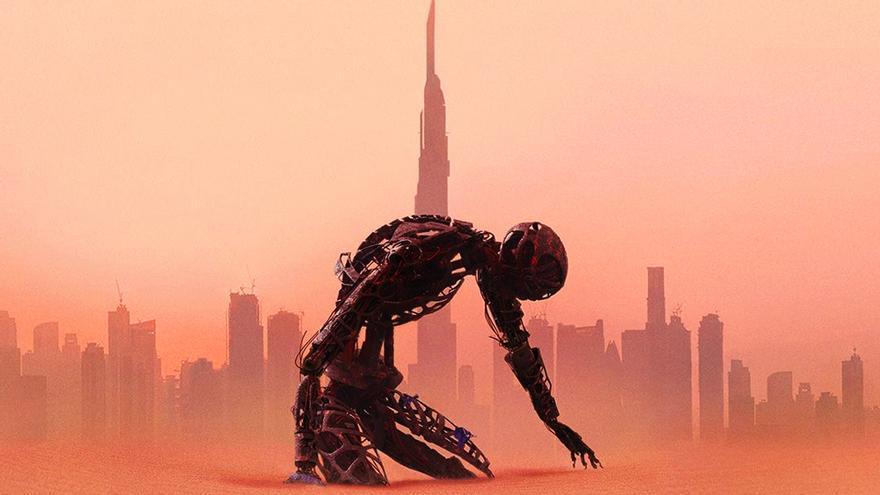 Detalle del póster de 'Westworld'