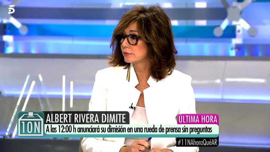 Ana Rosa Quintana en 'El programa de AR'