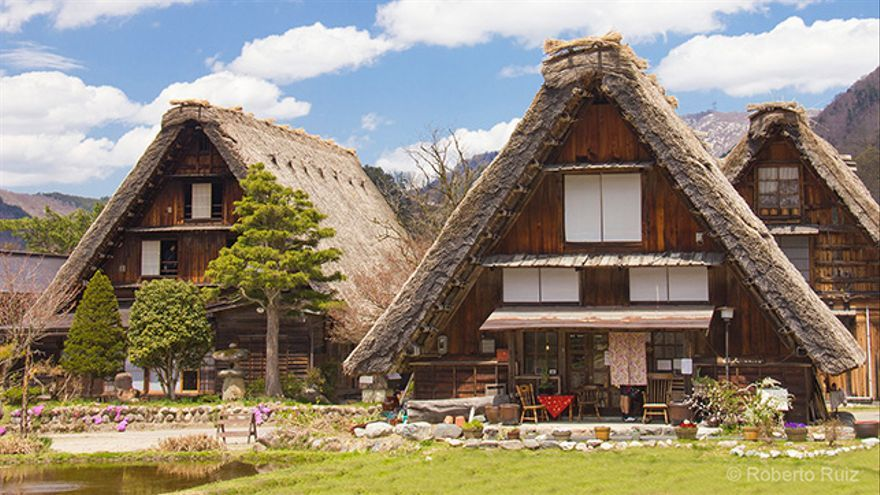 Casas gassho-zukuri de Shirakawa-go, Japón
