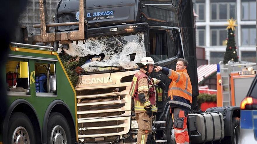 La Policía federal alemana asume la investigación del presunto atentado en Berlín