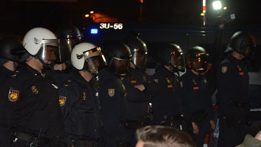Cambiemos Murcia exige el cese de Bernabé por la represión en las vías durante el 8-M