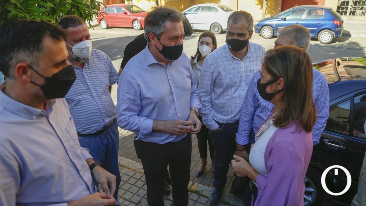Juan Espadas en una visita reciente a Córdoba