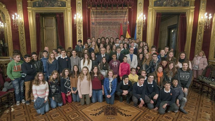 Un total de 88 estudiantes navarros y franceses participan en el programa de intercambio con Aquitania