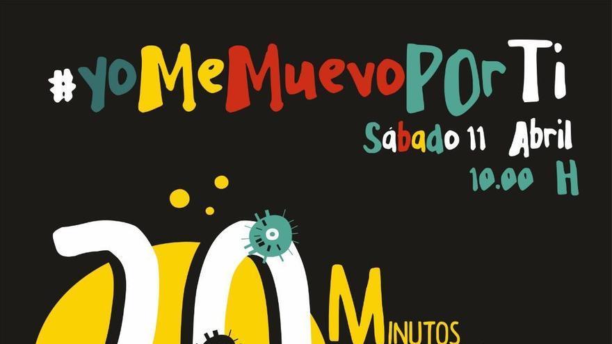 'Yo me muevo por ti', la iniciativa solidaria desde casa que quiere recaudar fondos para los hospitales de Albacete