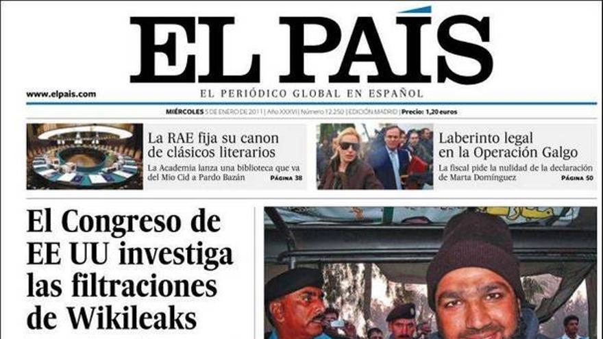 De las portadas del día (05/01/2011) #7