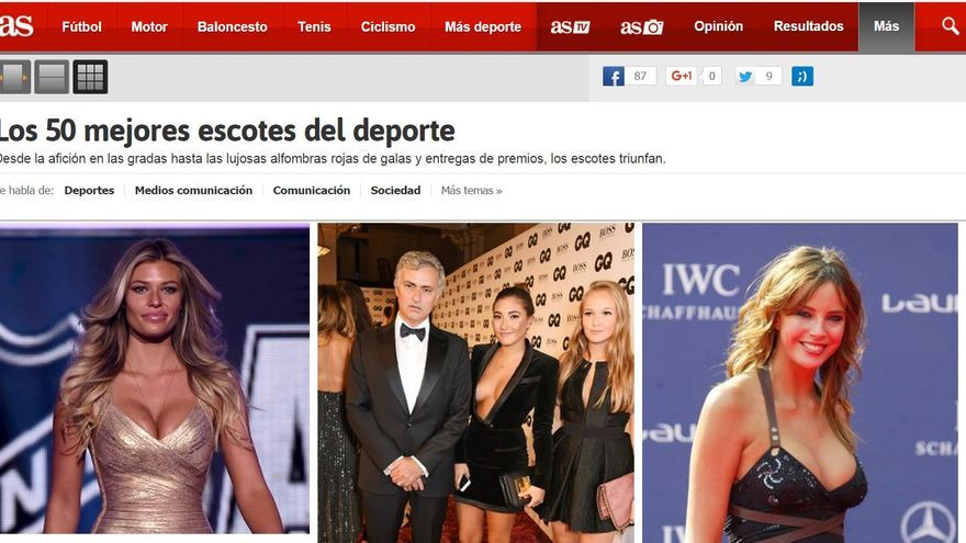 Los esfuerzos de la prensa deportiva por la igualdad de género