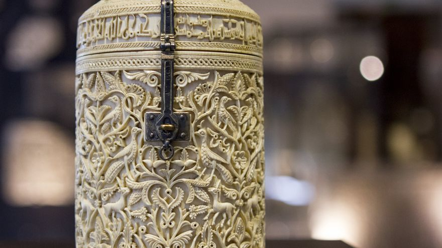 El llamado 'Bote' de Zamora es una de las mejores muestras de la artesanía en marfil de Al Andalus. Viajar Ahora